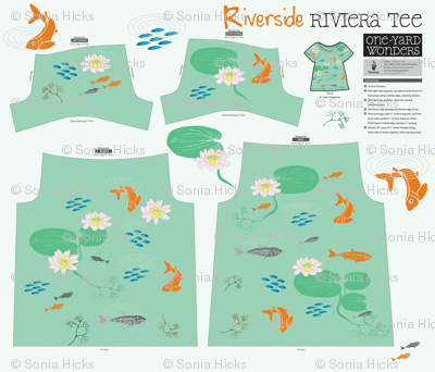 Riverside Riviera Tee