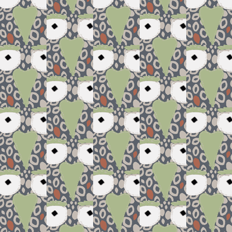 Hoofty1 fabric by bymarie on Spoonflower - custom fabric