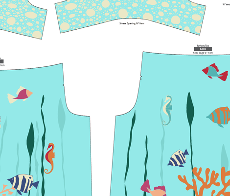 UnderTheSea fabric by sraka on Spoonflower - custom fabric