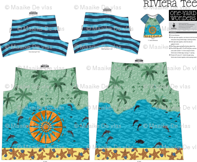 one yard wonder riviera tee compass