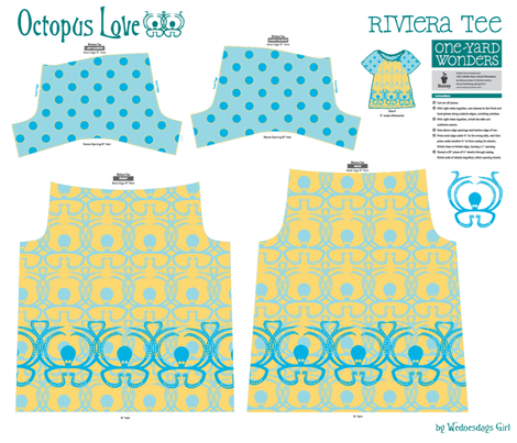 Octopus Love fabric by wednesdaysgirl on Spoonflower - custom fabric