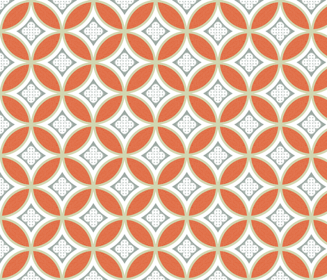 mexican_mod_tile2 fabric by marcador on Spoonflower - custom fabric