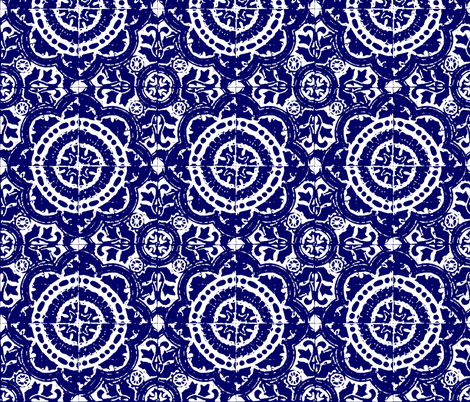 mexican block print- BOLD fabric by marcador on Spoonflower - custom fabric
