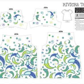 Paisley Fish Riviera Tee