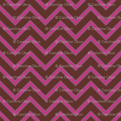 Mulberry Chevron