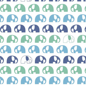 elephants_6cm_3row_blue green blue