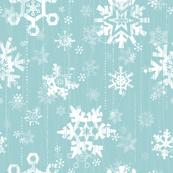 Snow - Blue