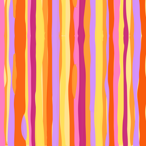 Bright_Sea_Stripes fabric by kcs on Spoonflower - custom fabric