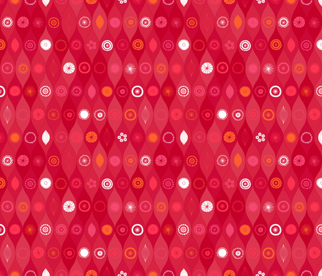 Retro Holiday fabric by friztin on Spoonflower - custom fabric