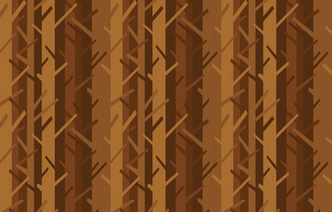 Woods by Friztin fabric by friztin on Spoonflower - custom fabric