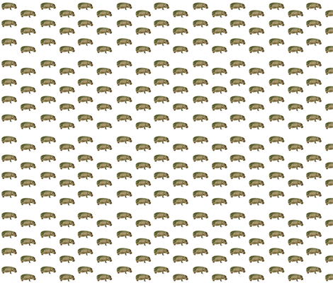 hippopotamus fabric by jeribev on Spoonflower - custom fabric