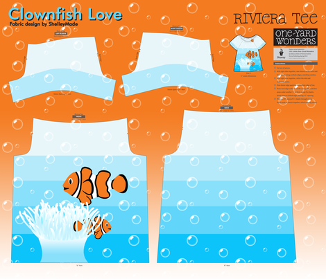 Clownfish Love - Riviera Tee