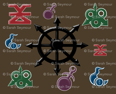 Warhammer Chaos Gods Symbols