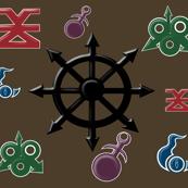 Chaos Gods Symbols