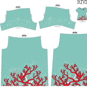 Fire Coral Riviera Tee