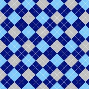 Blue Argyle
