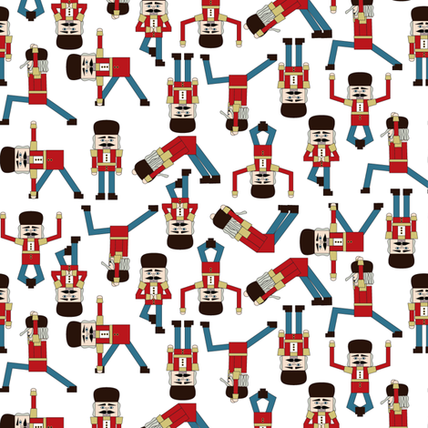 Nutcracker Zen fabric by mag-o on Spoonflower - custom fabric