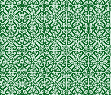 Wintergreen fabric by eli_eye on Spoonflower - custom fabric