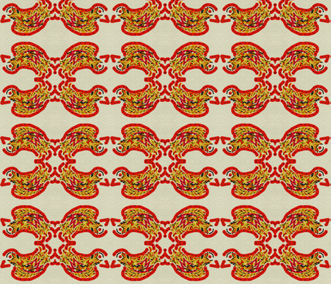 Rocking Birdie fabric by anniedeb on Spoonflower - custom fabric