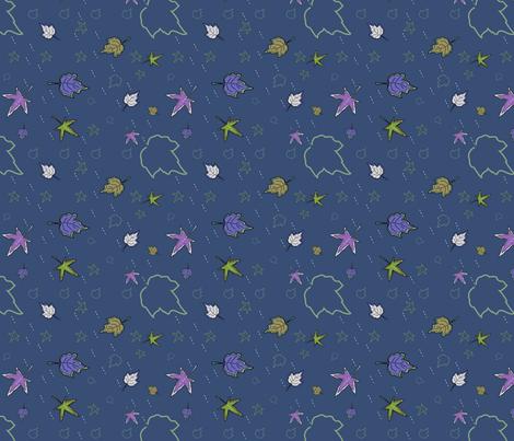 autumn leaves 2 fabric by kaija on Spoonflower - custom fabric
