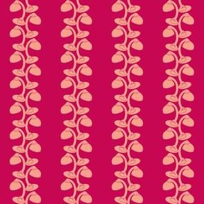 gooseneck lamp vine alizarin-coral