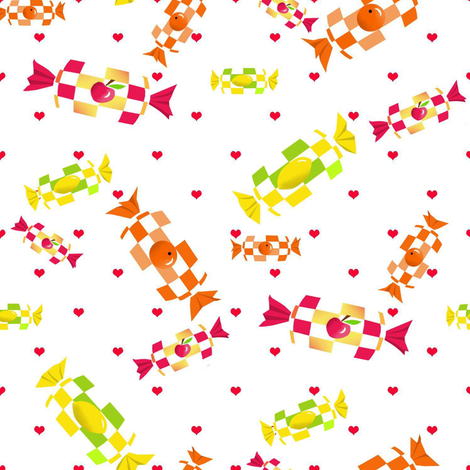 Fruit sweetness fabric by alfabesi on Spoonflower - custom fabric