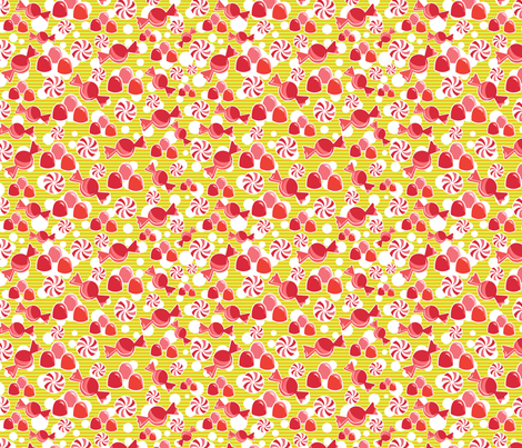 Gumdrop Dreams fabric by kfay on Spoonflower - custom fabric