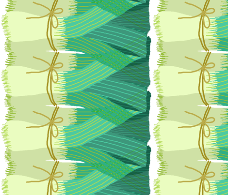 leeks_stripe fabric by lfntextiles on Spoonflower - custom fabric