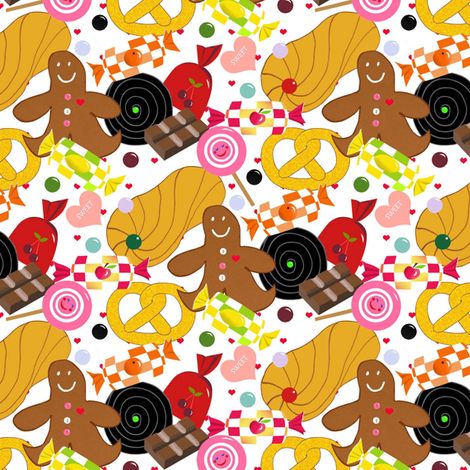 Sweet_surprise fabric by alfabesi on Spoonflower - custom fabric