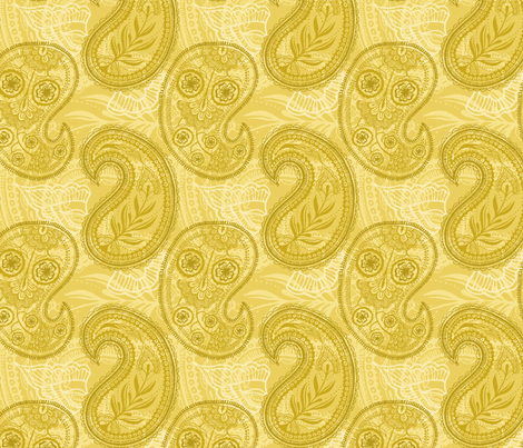 Sunny November fabric by penina on Spoonflower - custom fabric