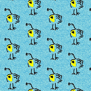 Meadowlark on Shades of Blue