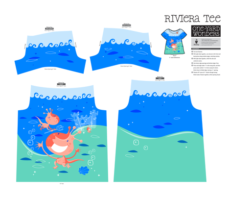 Sea Monkey Riviera Tee