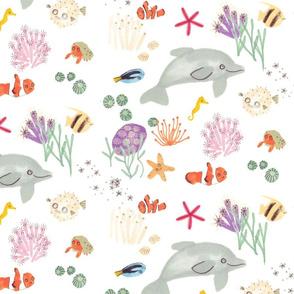 Happy Sea Creatures