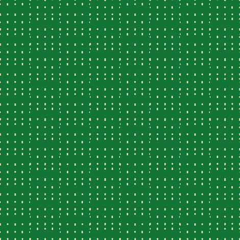 Emerald_dash_dot fabric by jennyf on Spoonflower - custom fabric