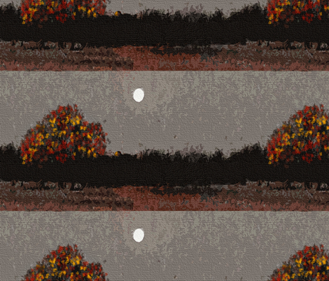 Reflections on an Autumn Evening fabric by anniedeb on Spoonflower - custom fabric