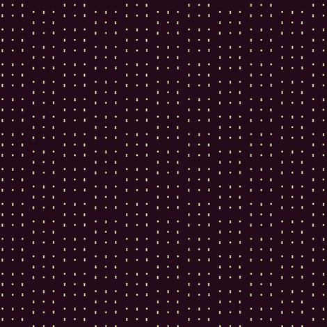 Oxblood_dash_dot fabric by jennyf on Spoonflower - custom fabric
