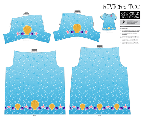 By the Seashore Riviera Tee fabric by jjtrends on Spoonflower - custom fabric