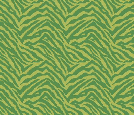 tiger_screen_xmas fabric by meli_lees on Spoonflower - custom fabric