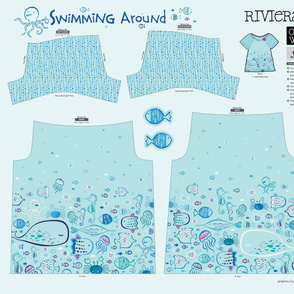 Swimming Around Riviera Tee