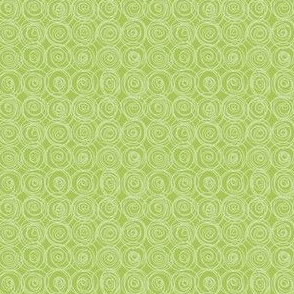 Jardin Loco-two-tone green swirls