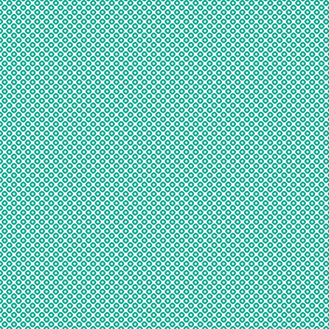 kanoko mini in emerald fabric by chantae on Spoonflower - custom fabric