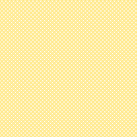 kanoko mini in citrine fabric by chantae on Spoonflower - custom fabric