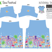 Sea Festival Little One Yard Wonders Riviera Tee