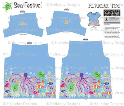 Sea Festival Little One Yard Wonders Riviera Tee