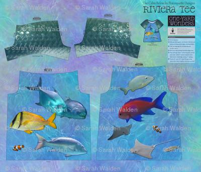 The Calm Below ~ Riviera Tee ~ 100% real photos