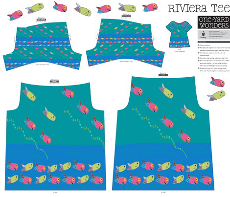 Little Fishies Under the Sea fabric by arttreedesigns on Spoonflower - custom fabric