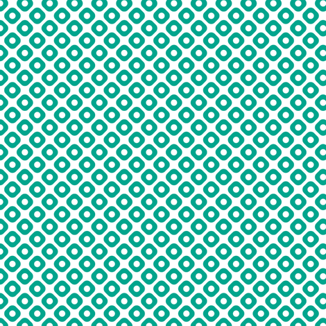 kanoko in emerald fabric by chantae on Spoonflower - custom fabric
