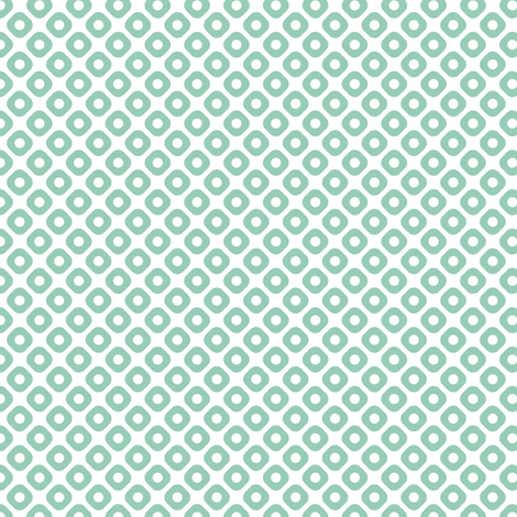 kanoko in jade fabric by chantae on Spoonflower - custom fabric