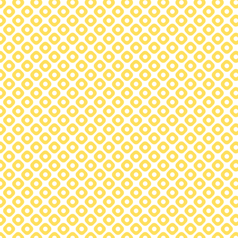 kanoko in citrine fabric by chantae on Spoonflower - custom fabric