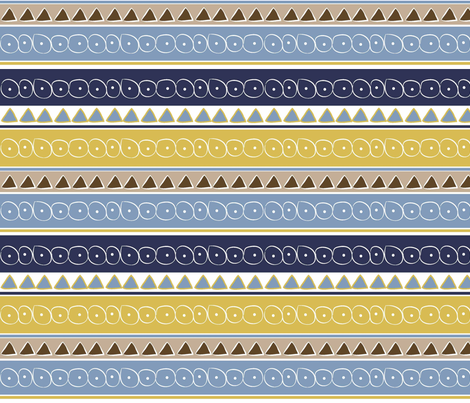 El Pueblo fabric by designedtoat on Spoonflower - custom fabric